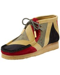 Sycamore Style - Men's Geometric Suede Wallabee/moc Chukka Boot - Lyst