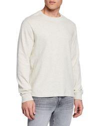 FRAME - Men's Long-sleeve Crewneck T-shirt - Lyst