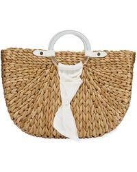PAMELA MUNSON - Exclusive Bimini Crescent Tote Bag - Lyst