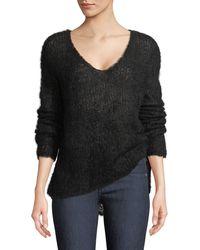 Rag & Bone - Freda Alpaca-blend V-neck Sweater - Lyst