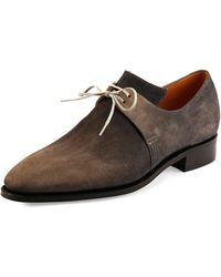Corthay - Arca Suede Lace-up Shoe - Lyst