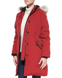 Canada Goose - Kensington Fur-hood Parka - Lyst