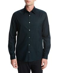 Vince - Single-pocket Cotton Sport Shirt - Lyst
