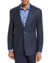 Giorgio Armani - Melange Wool Two-piece Suit - Lyst