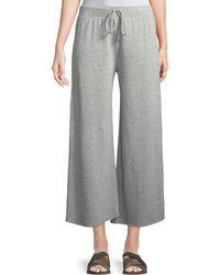 Velvet - Avalyn Fleece Wide-leg Pants - Lyst