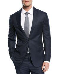 Ralph Lauren   Textured Birdseye-knit Two-piece Suit   Lyst