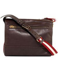 Bally - Tamrac Men's Leather Messenger Bag - Lyst