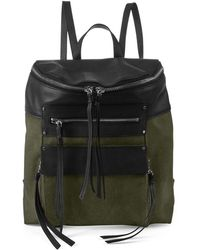 Kooba - Phoenix Canvas Leather Backpack - Lyst
