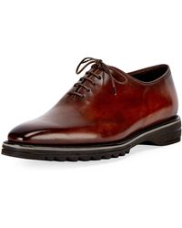 Berluti - Alessandro Spada Leather Lace-up Shoe - Lyst