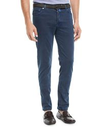 Kiton - Men's Straight-leg Pants W/ Contrast Stitching - Lyst