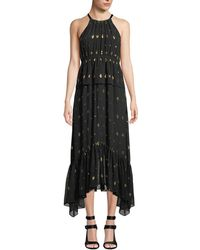 A.L.C. - Rosa High-neck Metlong Dress - Lyst
