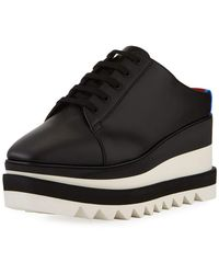 Stella McCartney - Sneakelyse Platform Slide Sneakers - Lyst