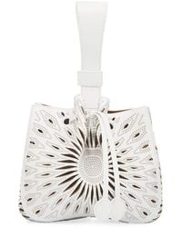 Alaïa - Rose Marie Small Bucket Bag - Lyst