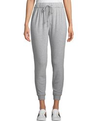 Cupcakes And Cashmere - Deano Drawstring Knit Jogger Pants - Lyst