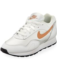 Nike Outburst W trainers Lyst White Shoes Women's In n4Wd6x5O7x