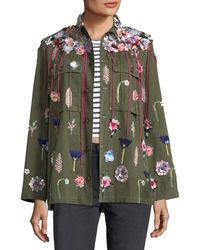 Libertine - Embellished Button-front Army Jacket - Lyst