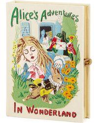 Olympia Le-Tan - Alice In Wonderland Book Clutch Bag - Lyst