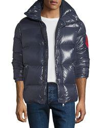 Moncler - Men's Montbeliard Shiny Puffer Jacket - Lyst