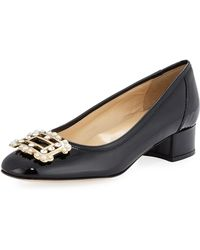 Sesto Meucci - Heda Pearly Embellished Pump - Lyst