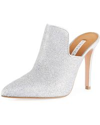 Veronica Beard - Penn Glittered 100mm Mule - Lyst