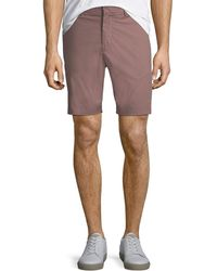 Theory - Zaine S Slim-fit Poplin Shorts - Lyst