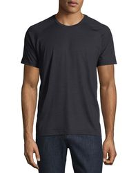 Z Zegna - Techmerino Jersey Short-sleeve T-shirt - Lyst