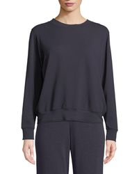 Neiman Marcus - French Terry Relaxed Sweatshirt - Lyst