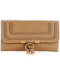 Chloé - Marcie Continental Flap Wallet - Lyst