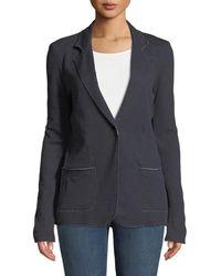 Neiman Marcus - Cashmere Double-face One-button Jacket - Lyst