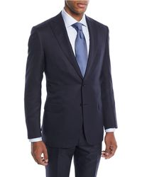 Brioni - Men's Tonal Stripe Wool-silk Two-piece Suit - Lyst