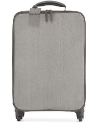 Brunello Cucinelli - Monili Spinner Wheeled Carryon Suitcase Gray Pattern - Lyst