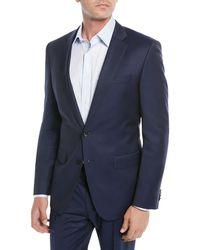BOSS - Men's Wool Basic Two-piece Suit Blue - Lyst