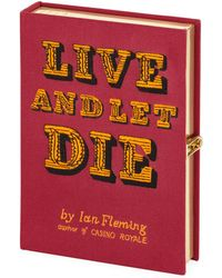 Olympia Le-Tan - Live And Let Die Book Clutch Bag - Lyst