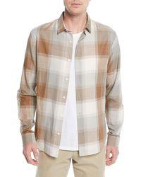 Vince - Men's Vintage Wool/cashmere Plaid Sport Shirt - Lyst
