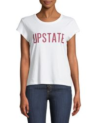 "Joie - Delzia B ""upstate"" Crewneck Short-sleeve Tee - Lyst"