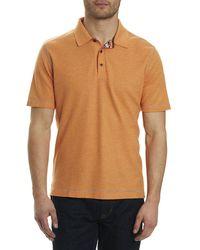 Robert Graham - Messenger Heather Polo Shirt - Lyst