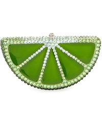 Judith Leiber Couture | Slice Crystal Pillbox | Lyst