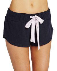 Eberjey | Heather Lounge Shorts | Lyst