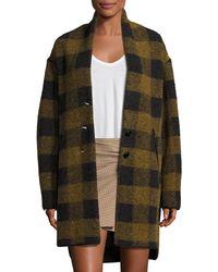 Étoile Isabel Marant - Gino Oversized Plaid Wool Jacket - Lyst
