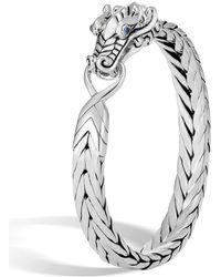 John Hardy - Men's Legends Sapphire Bracelet - Lyst