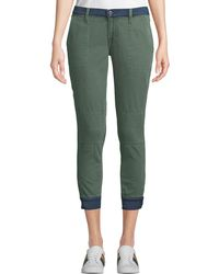 Etienne Marcel - Two-tone Skinny Military Jogger Pants - Lyst