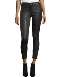 FRAME - Le Skinny Leather Pants - Lyst