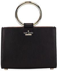 Kate Spade - White Rock Road Sam Mini Leather Ring-handle Bag - Lyst