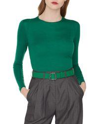 Akris - Cashmere/silk Pullover Sweater - Lyst