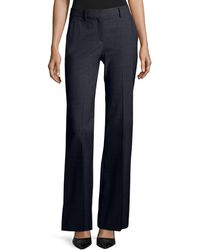 Theory - Jotsna Continuous Stretch-wool Pants - Lyst