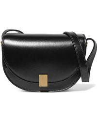 Victoria Beckham - Half Moon Box Nano Leather Shoulder Bag - Lyst