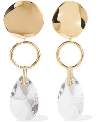 Isabel Marant - Crystal-embellished Drop Earrings - Lyst