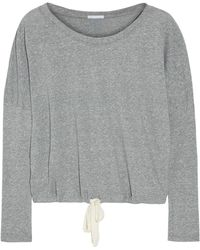 Eberjey - Heather Jersey Pyjama Top - Lyst