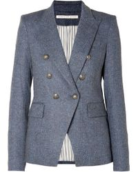Veronica Beard - Miller Dickey Tweed Blazer - Lyst