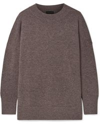 HATCH - The Clementine Merino Wool And Cashmere-blend Sweater - Lyst